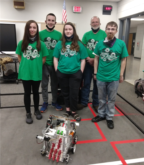 NBAMS robotics team set for state!
